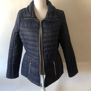 Guess Nylon Windbreaker Puffer Jacket - M
